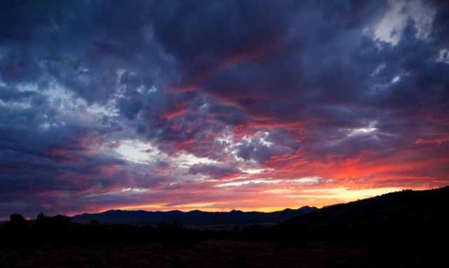 Ione Valley Sunset
