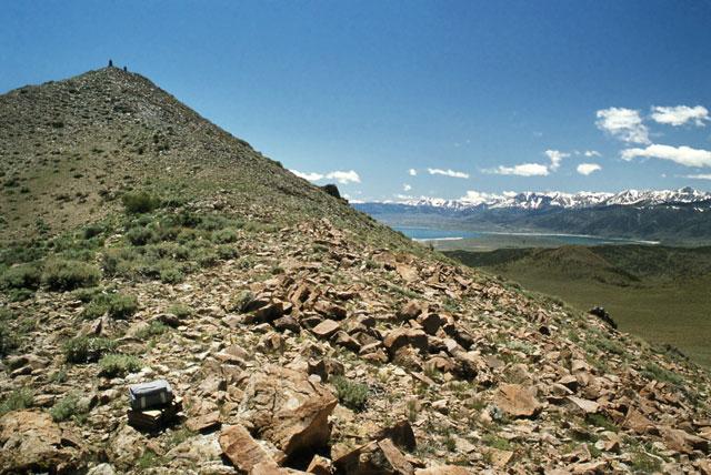 Mt. Biedeman, approaching the summit