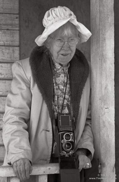 Imogen Cunningham at Moss Landing, 1970