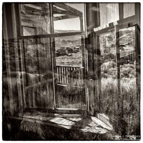 Ghost Town reflections, Bodie