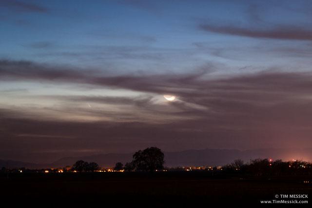 Comet PanSTARRS C/2011L4