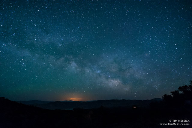 Milky Way over Deep Springs Valley
