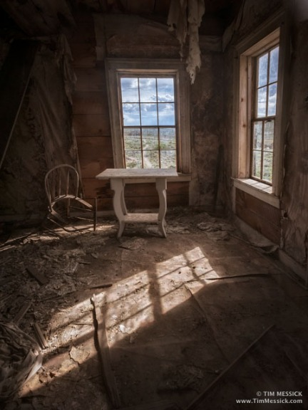 Bodie: The White Table