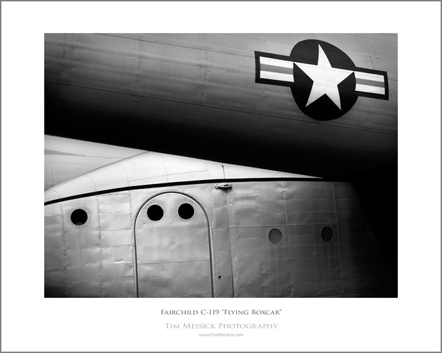Flying Boxcar 1 BW