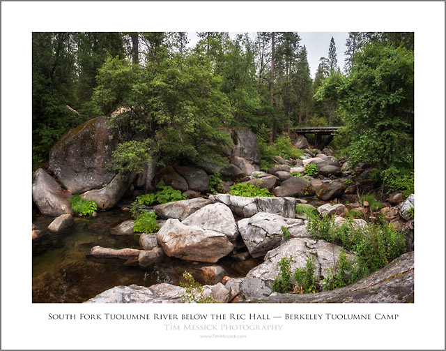 BTC-South Fork Tuolumne River below the Rec Hall