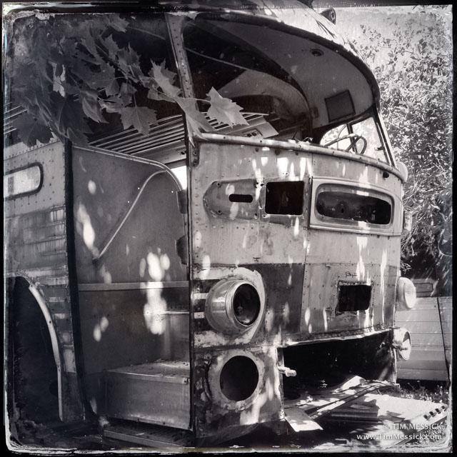 Bus at Coach Maintenance
