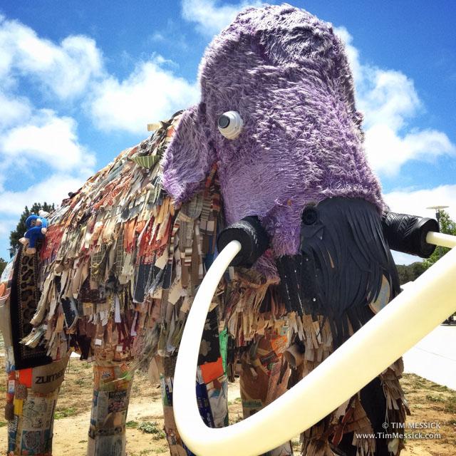 Mammoth art at CSUMB