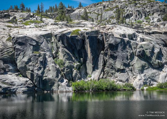 Cliffs at Shealor Lake