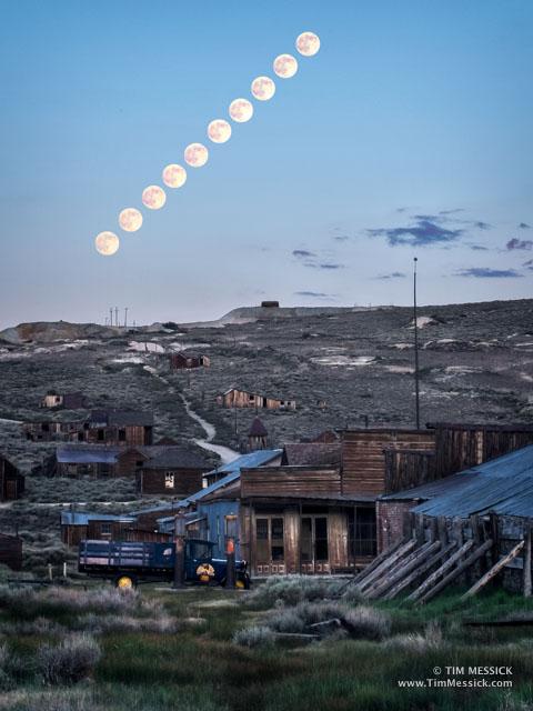 Moons Rising at Bodie