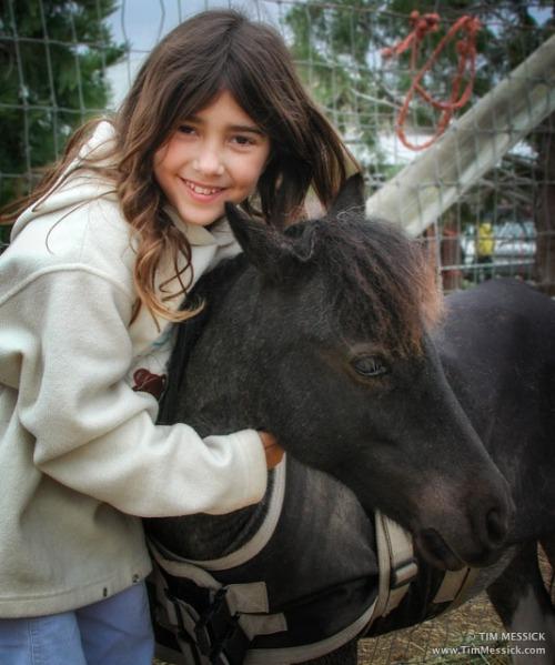 Christina with friend