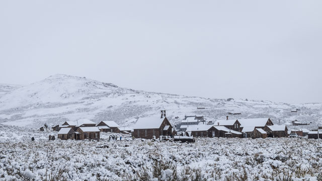 Snow in Bodie