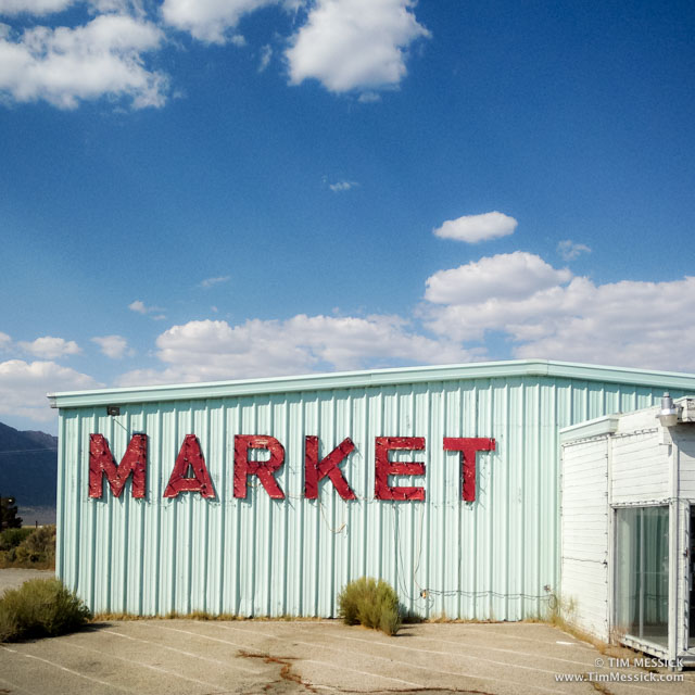 Buster's Food Market, Bridgeport, CA