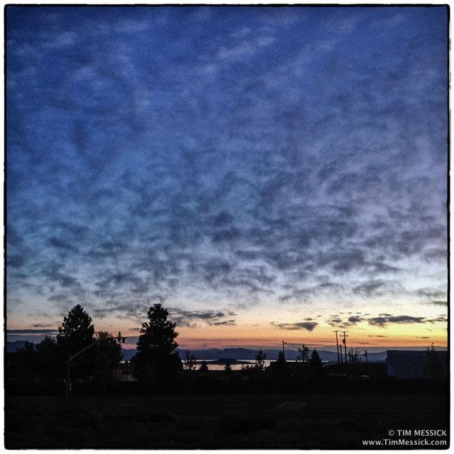 Sunrise in Lee Vining