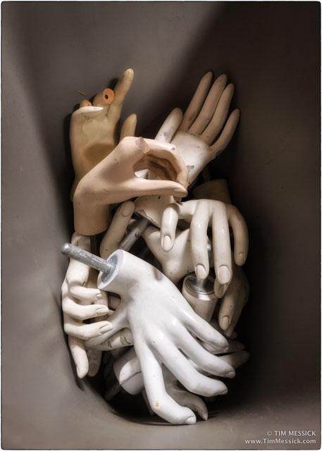 Bucket of Hands