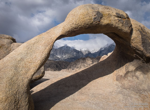 Classic view through Mobius Arch