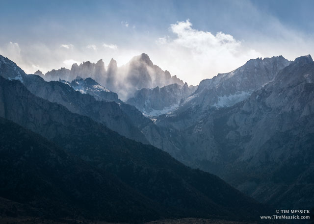 Mt Whitney, evening