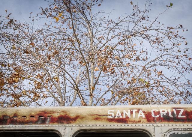 A bus from Santa Cruz