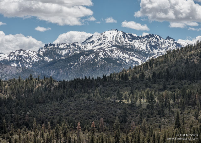 Raymond Peak fron the Curtz Lake trail