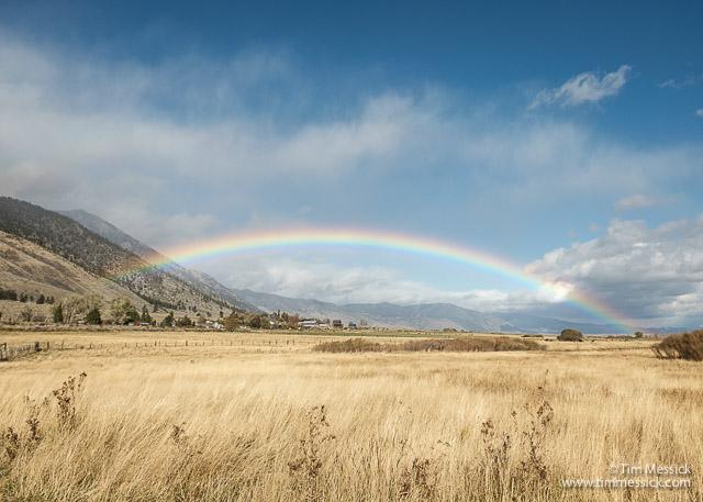 Carson Valley rainbow