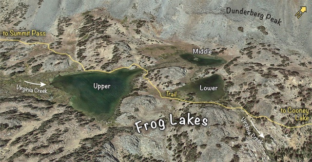 Frog Lakes map