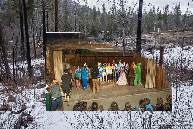 A staff show at Tuolumne Stage