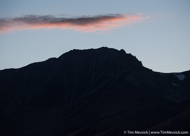 Panum Crater at sunset